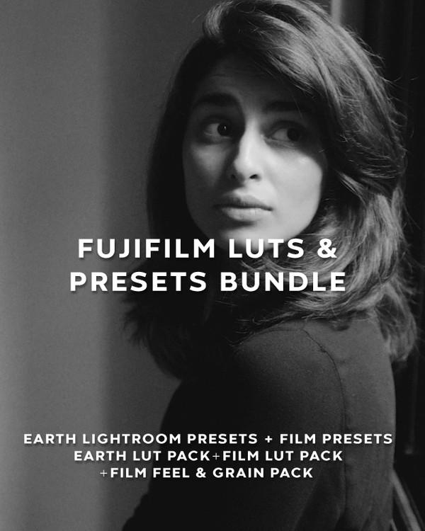 FUJIFILM X & GFX Cameras LUTs & Presets Bundle