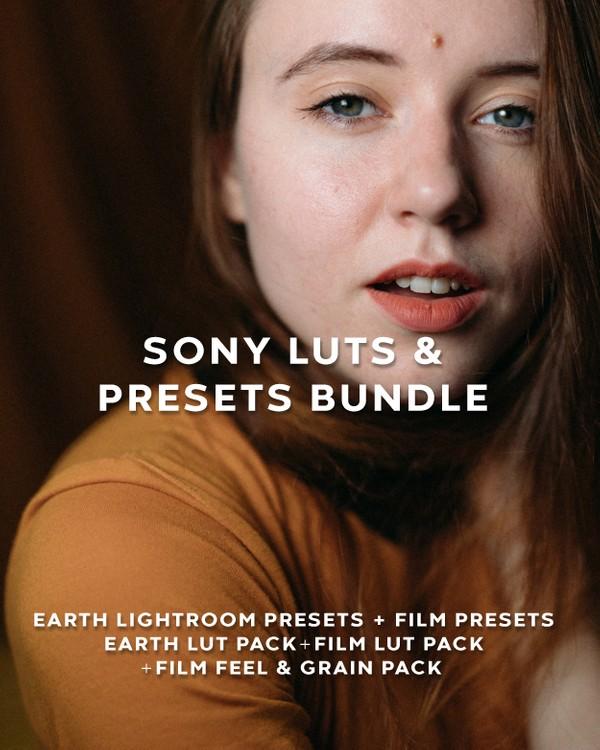 Sony ALPHA Cameras Earth LUTs & Presets Bundle
