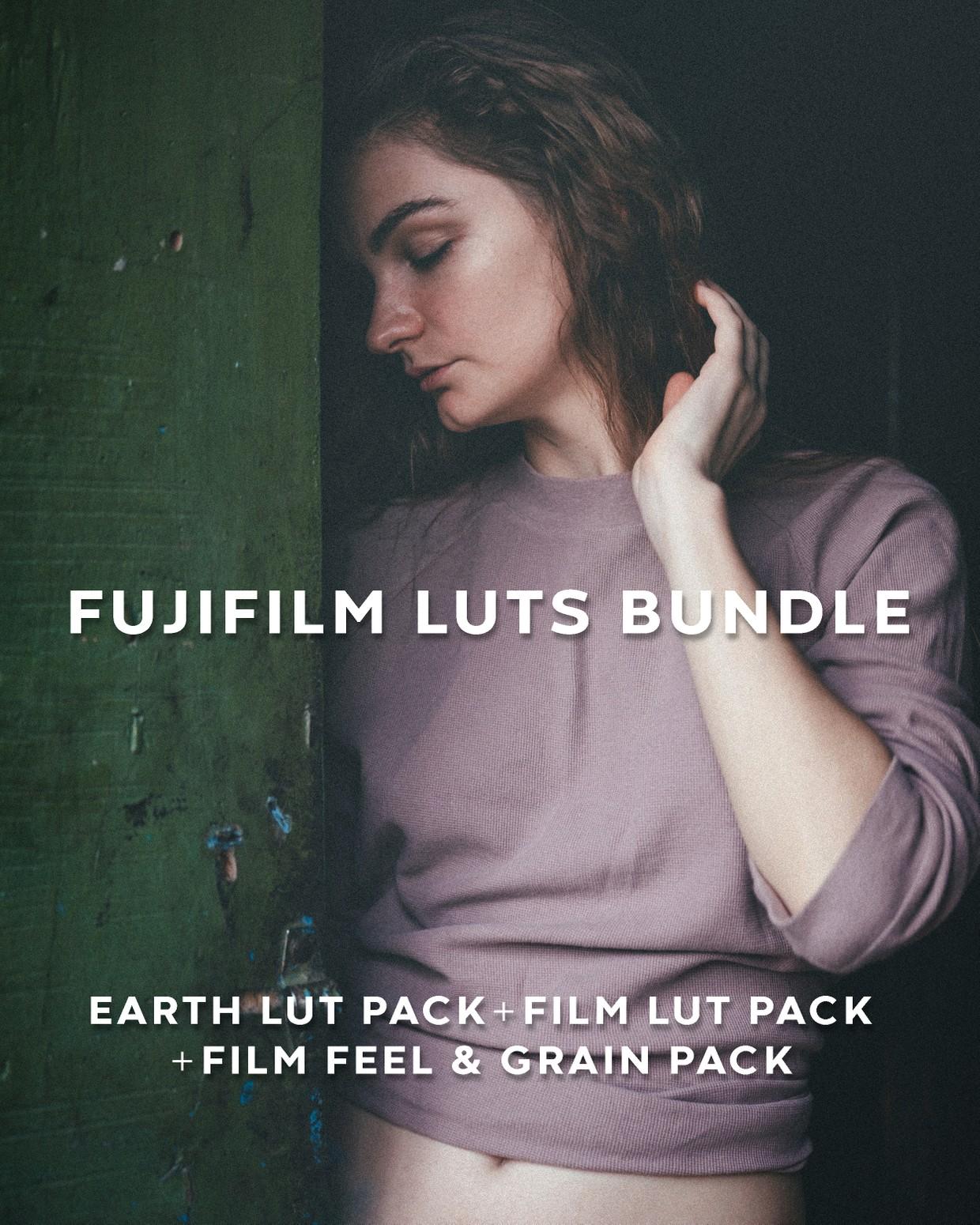 FUJIFILM X & GFX Cameras LUTs Bundle