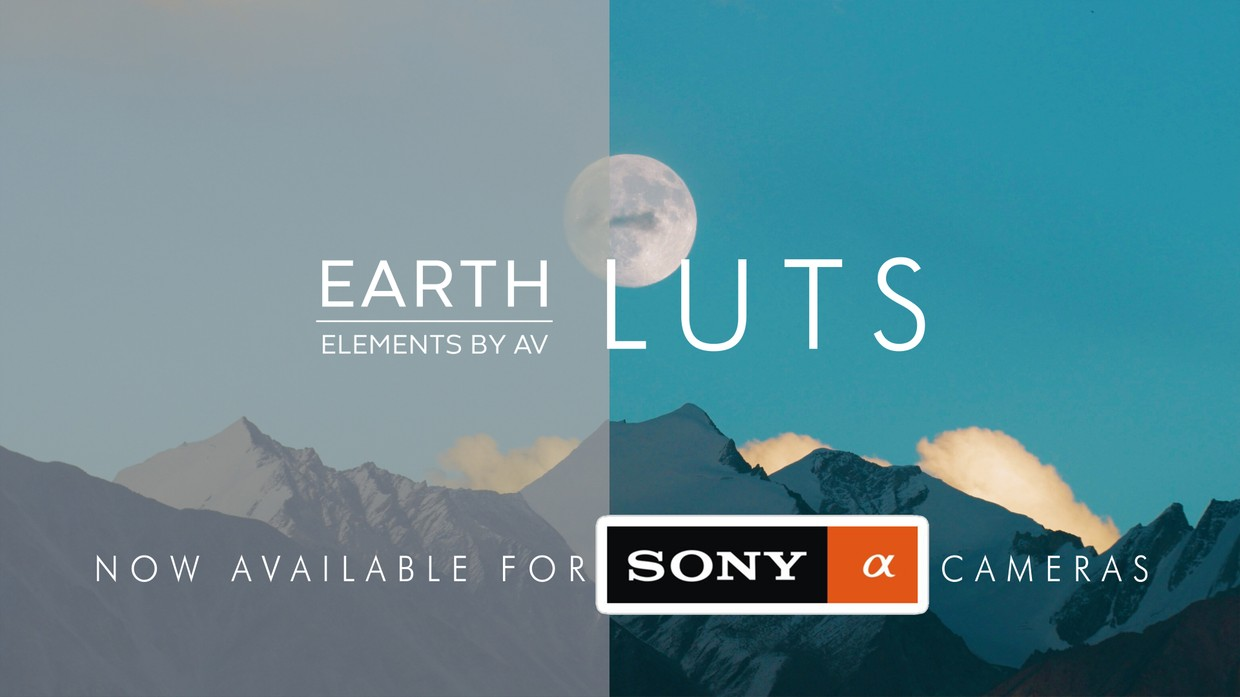 Earth LUT Pack for SONY ALPHA Cameras -  ( ONLY FOR SLOG2 or PP7)