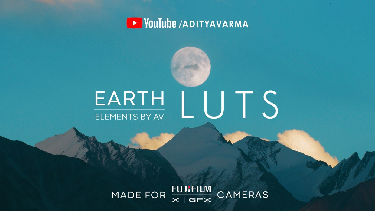 Earth LUT Pack for FUJIFILM X & GFX Cameras  -  ( F-LOG highly recommended ) 2.3