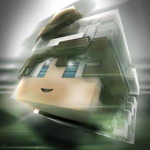 High Quality Minecraft Head AVI