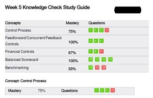 MGT 521 Week 5 Knowledge Check Answers