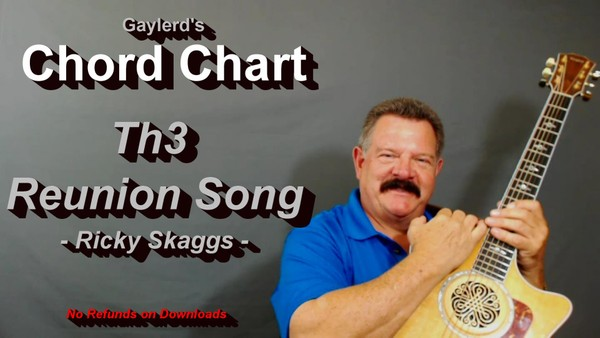 The Reunion Song - Chord Chart