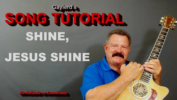 SHINE, JESUS SHINE by Graham Kendrick - FREE SONG TUTORIAL use code JesusIsLord