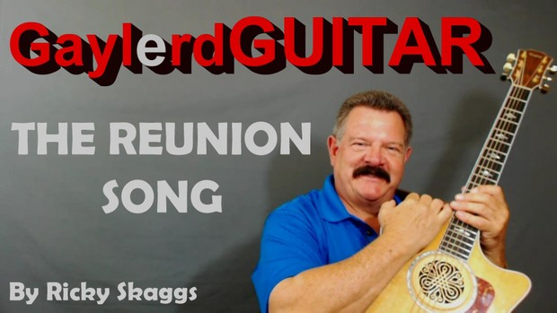 The Reunion Song - Ricky Skaggs  (song tutorial)