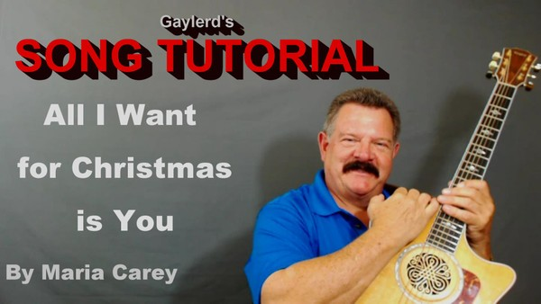 All I Want For Christmas is You (Video Tutorial)