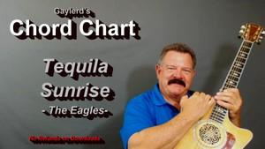 Tequila Sunrise - (Chord Chart)