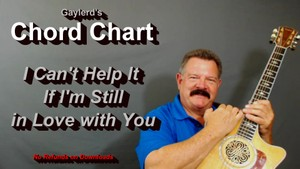 I Can't Help It If I'm Still In Love With You  by Linda Ronstadt (Chord Chart)