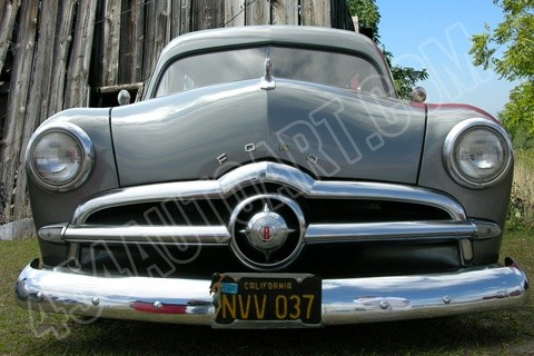 1949 Ford Club Coupe front