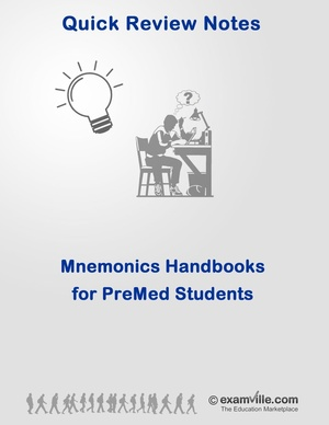 Science Mnemonics Handbook for Nursing and Premed Students
