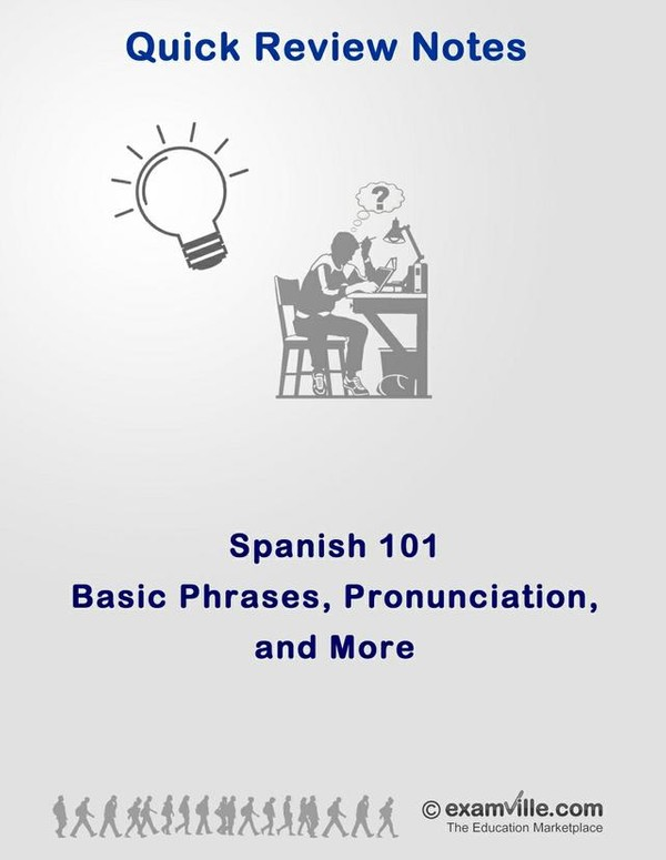 Spanish 101 - Basic Phrases and More