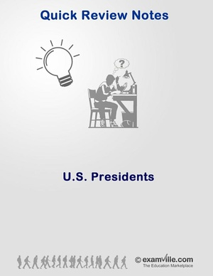 Quick Review - US Presidents