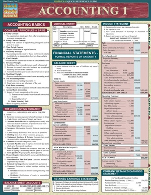 Accounting 1 - Quick Review Study Guide and Notes