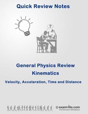 Physics Review - Kinematics Velocity