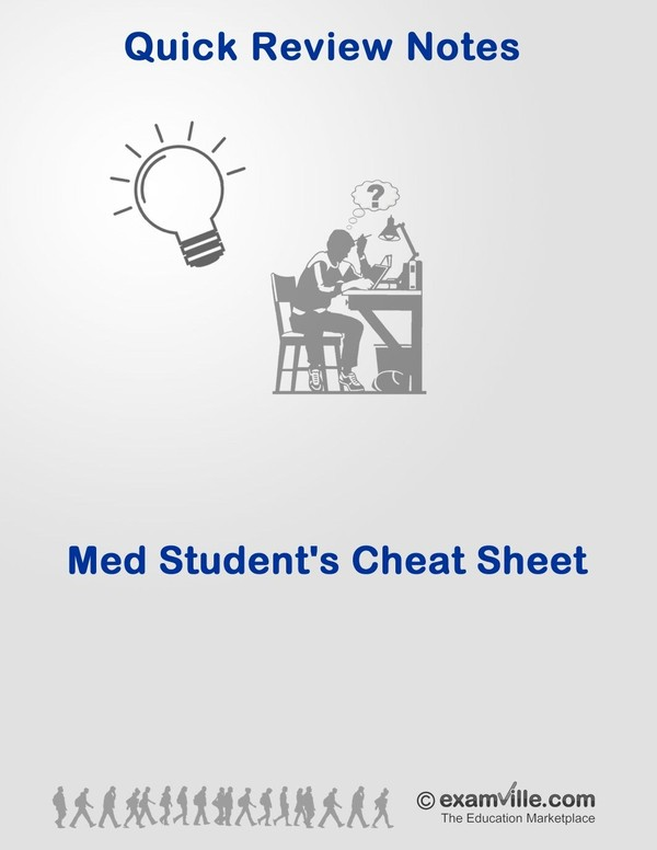 Med and Nursing Students' Cheat Sheet: Easy Ways to Remember Diseases