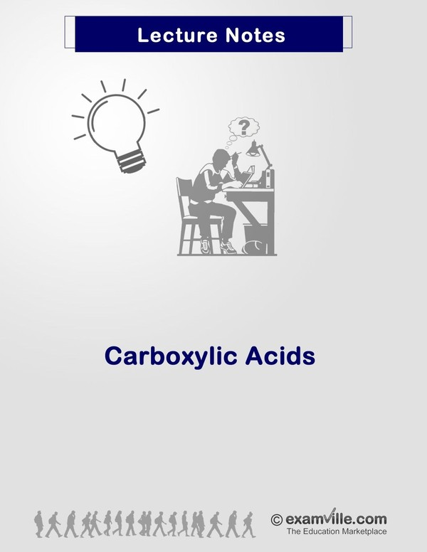 Organic Chemistry Review: Carboxylic Acid