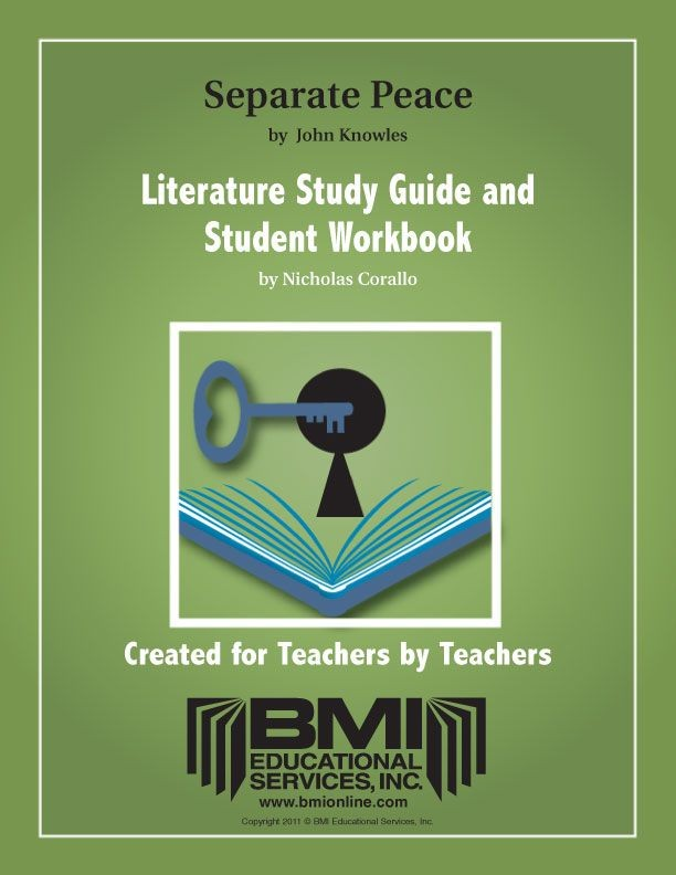 A Separate Peace: Study Guide and Student Workbook (Enhanced ebook)