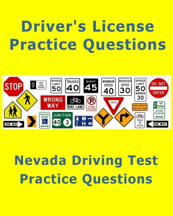 Nevada Driving Test – Practice Questions (License Test)