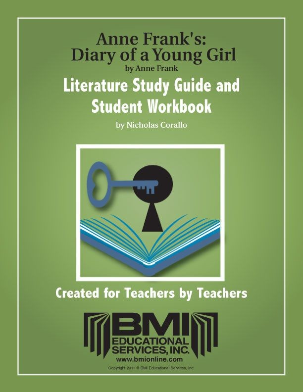 Anne Frank's The Diary of a Young Girl: Study Guide and Student Workbook (Enhanced ebook)