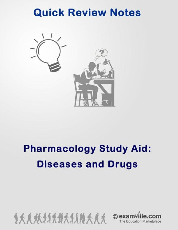 Pharmacology Review - Diseases and Drugs