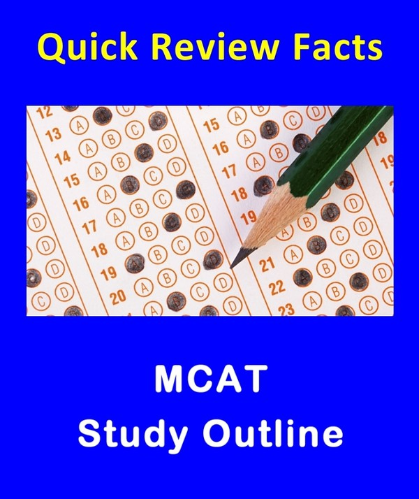 290+ Quick Review Facts - MCAT Psychology & Sociology