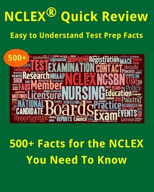 500+ Must Know Facts for the NCLEX Exam (Quick Review Test Prep)