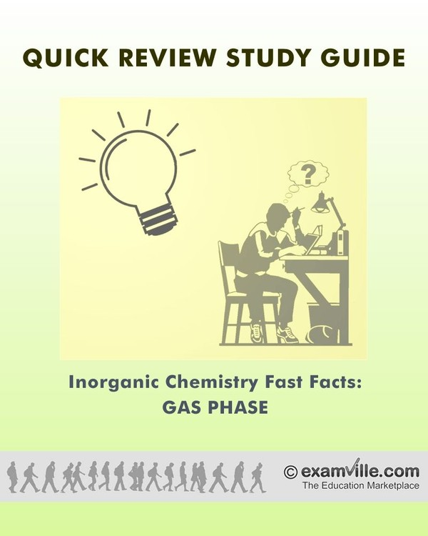 Inorganic Chemistry Fast Facts: Gas Phase and Gases