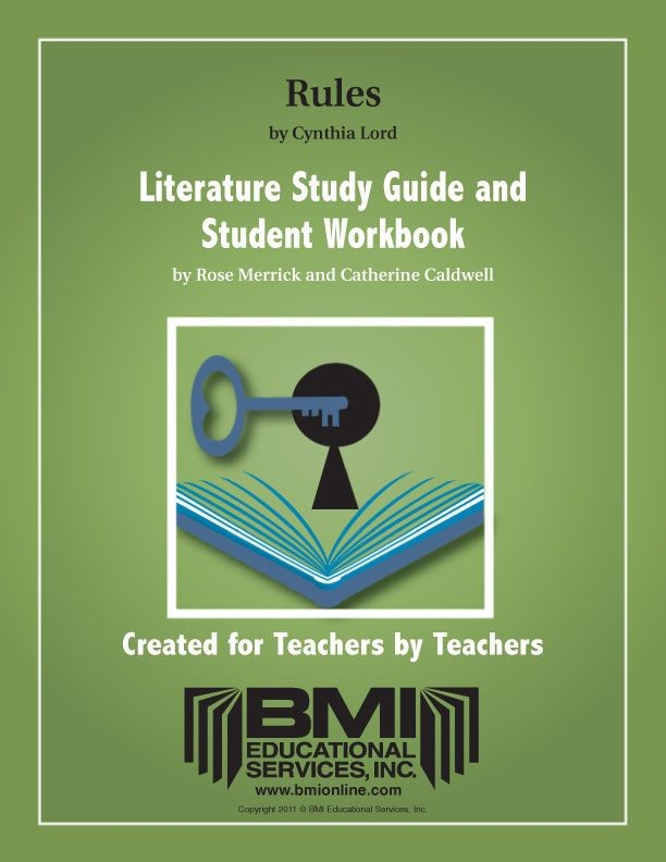 Rules: Study Guide and Student Workbook