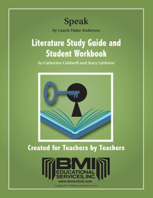 Speak: Study Guide and Student Workbook (Enhanced ebook)
