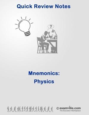 Mnemonics for Physics Students