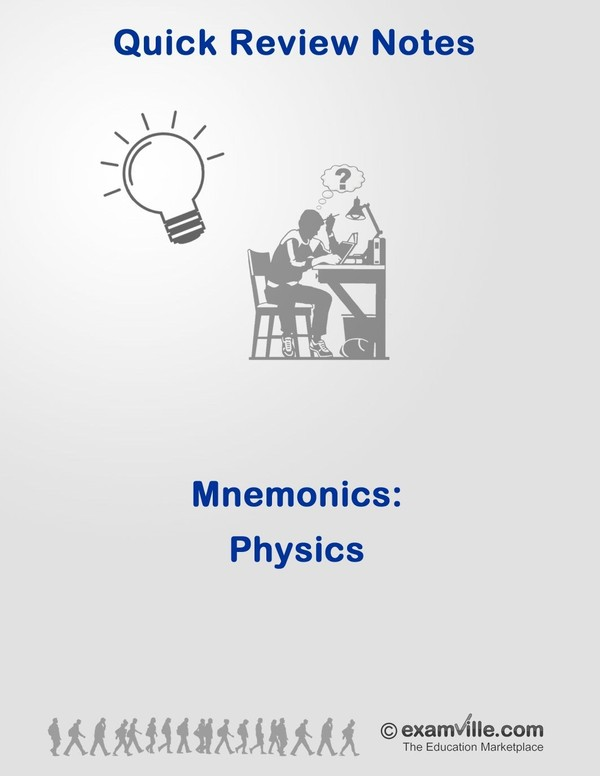 Mnemonics for Physics Students