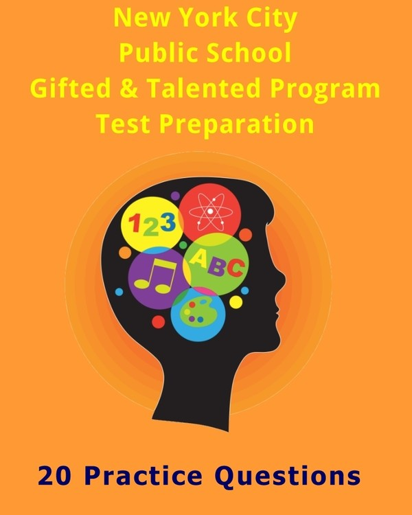 NYC Gifted & Talented Program Practice Questions (Nonverbal Ability)