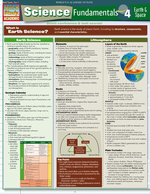 Science Fundamentals 4 Earth & Space