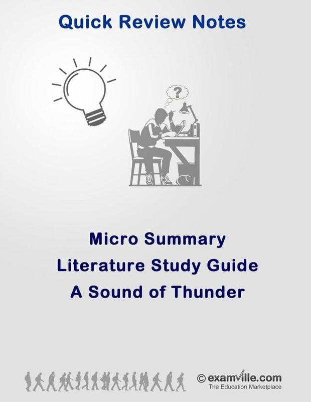 Literature Micro Summary - A Sound of Thunder
