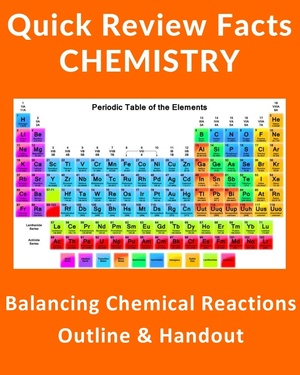 How To Balancing a Chemical Reaction - Quick Review and Outline