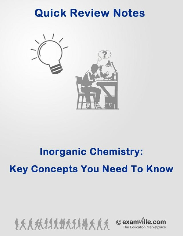 Inorganic Chemistry Concepts That You Need To Know