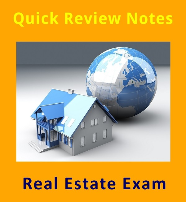 200+ Quick Review Facts - California Real Estate Exam