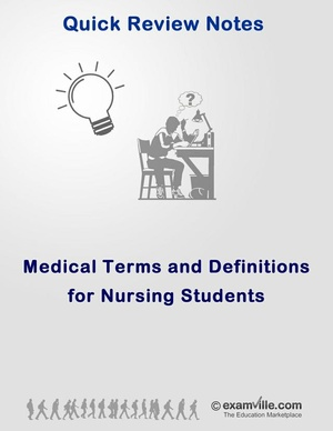 Medical Terms and Definitions for Nursing Students
