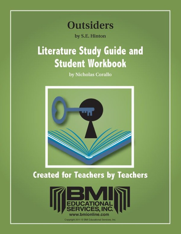 The Outsiders: Study Guide and Student Workbook