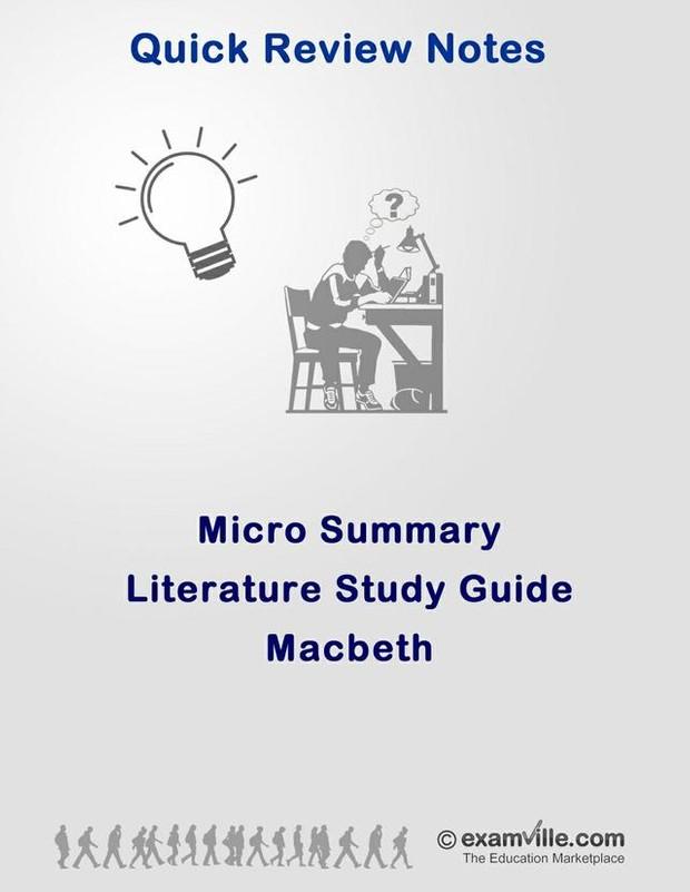 Literature Micro Summary - Macbeth