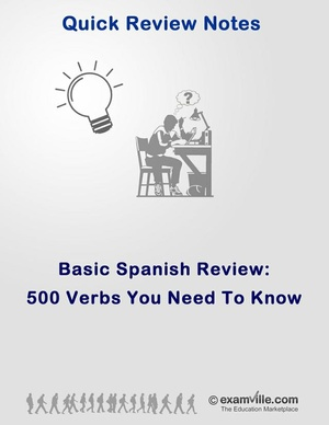 500 Spanish Verbs Your Need To Know