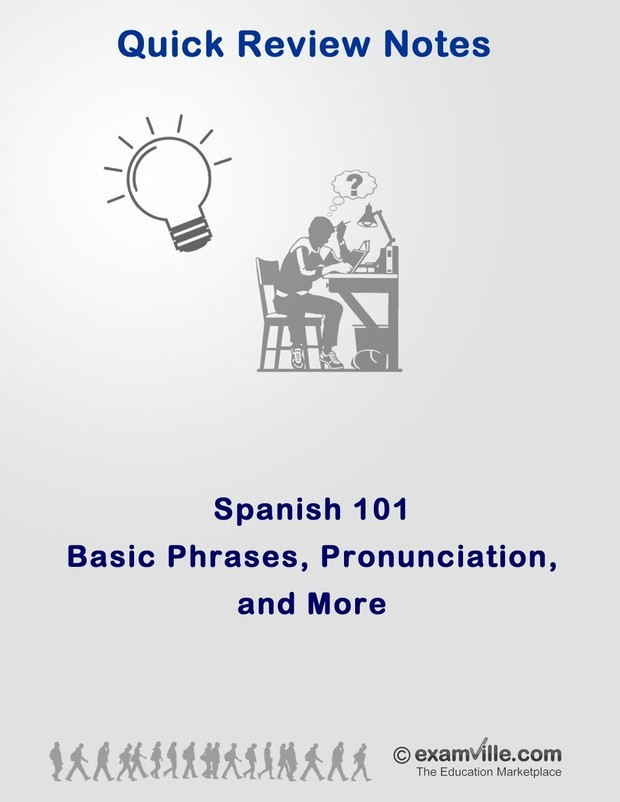Spanish 101 - Basic Phrases, Pronunciations and More