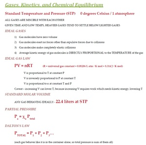 MCAT General Chemistry Quick Review and Overview
