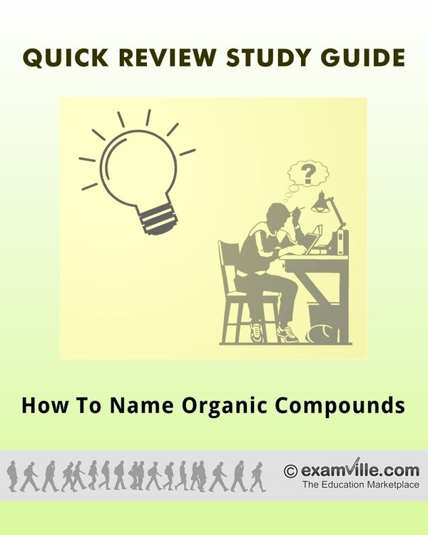 How to Name Organic Compounds (Organic Chemistry Review)
