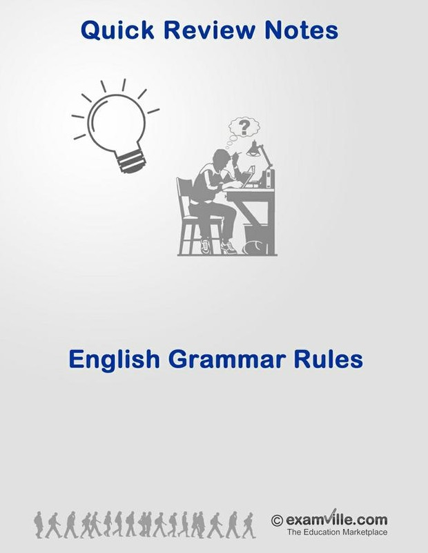English Grammar Rules (Quick Review)