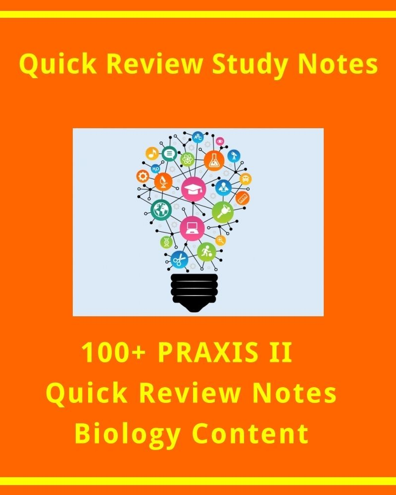 100  Praxis Ii Quick Review Facts For Biology Exam