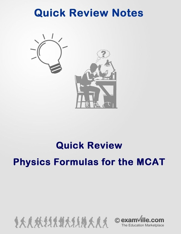 Physics Formulas for the MCAT