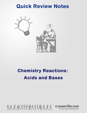 Organic Chemistry Reactions: Acids and Bases Review