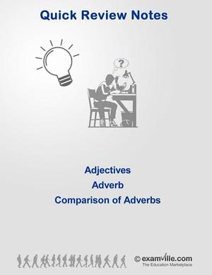 English Grammar Review - Adjective, Adverb, Comparison